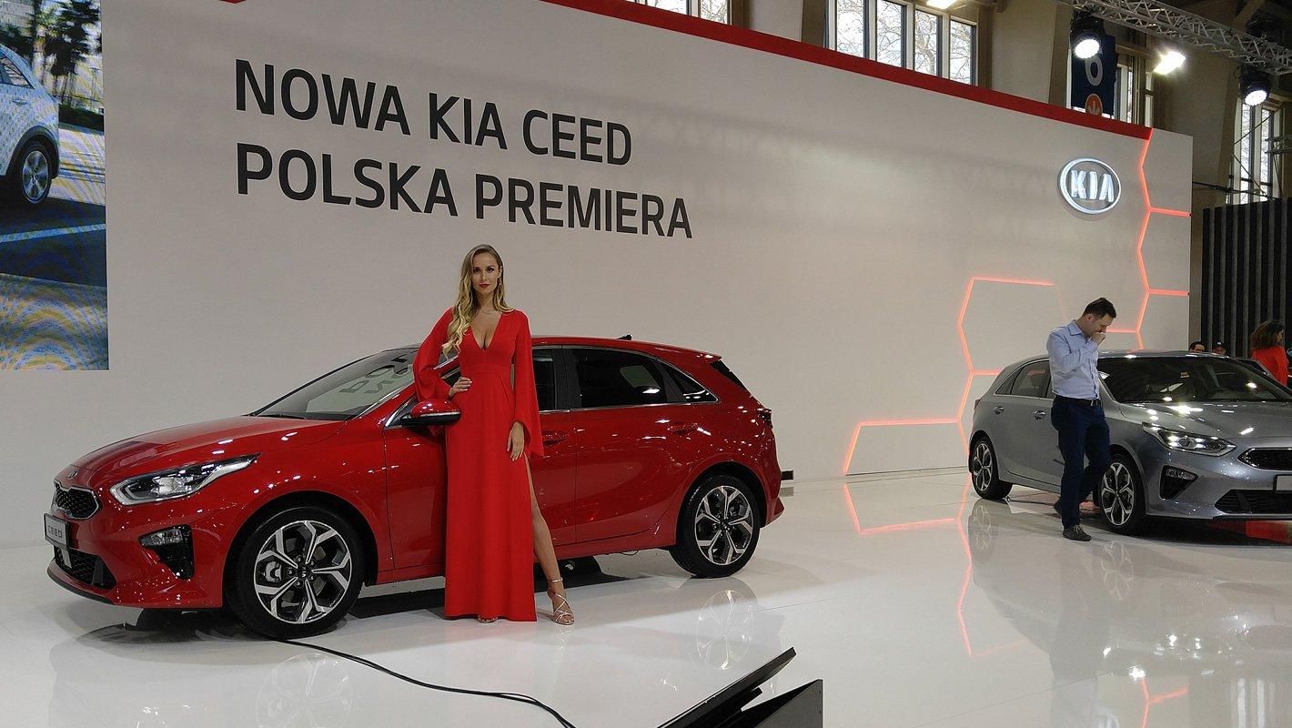 Kia Ceed na Poznań Motor Show 2018