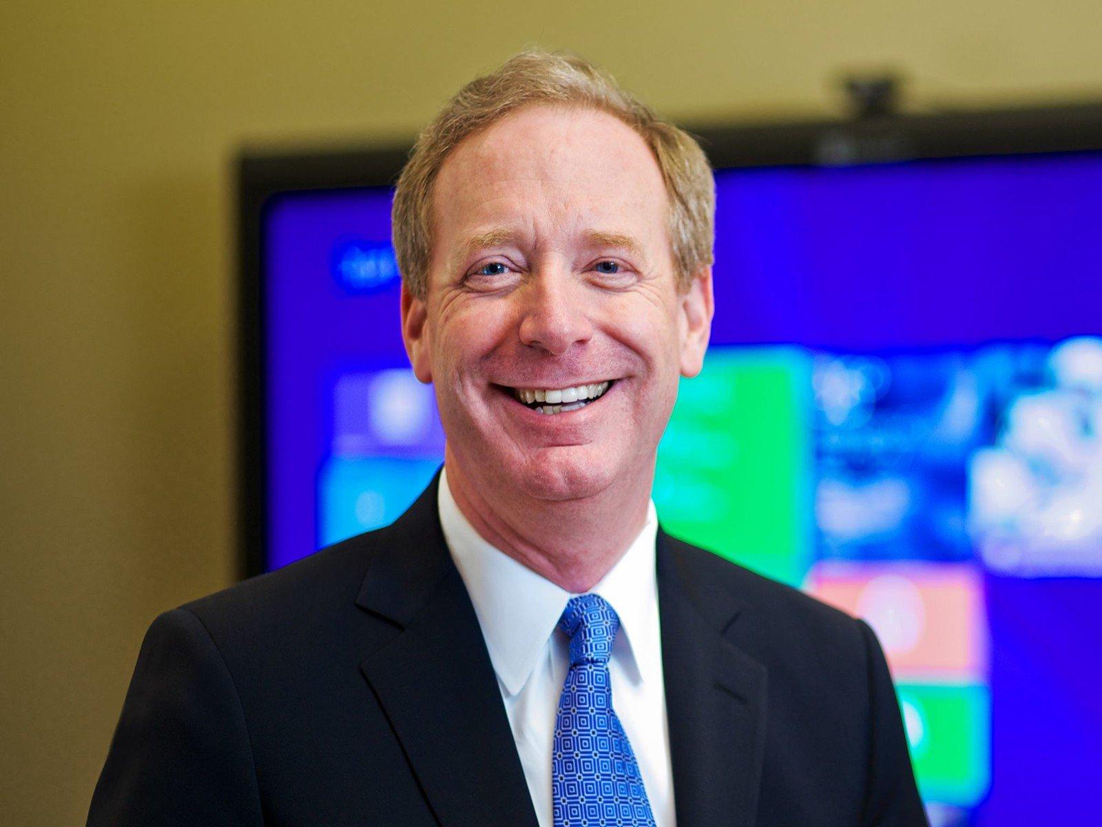 Microsoft Brad Smith
