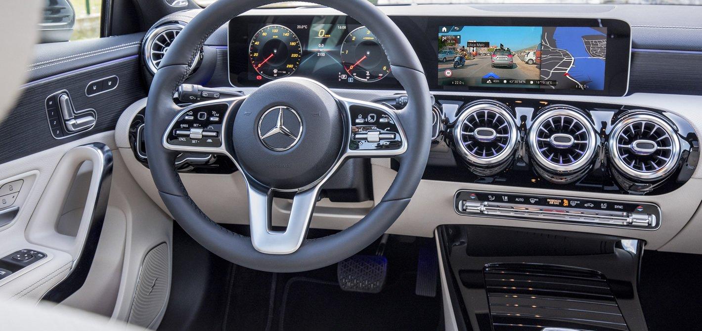 Mercedes-Benz Klasy A - kierownica