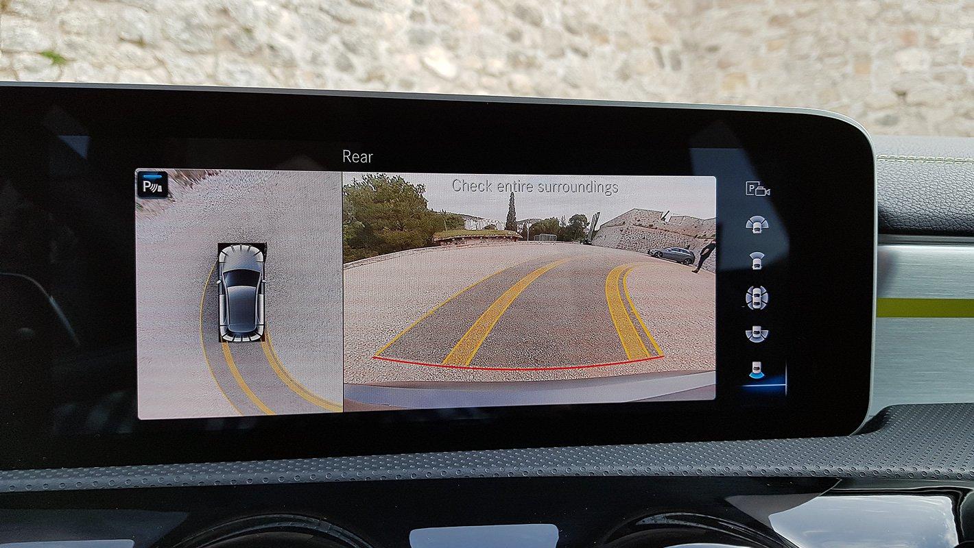 Mercedes-Benz Klasy A - kamera