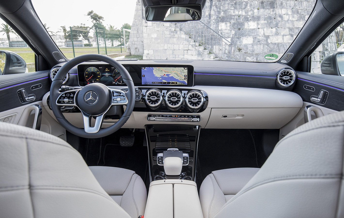 Mercedes-Benz Klasy A w środku