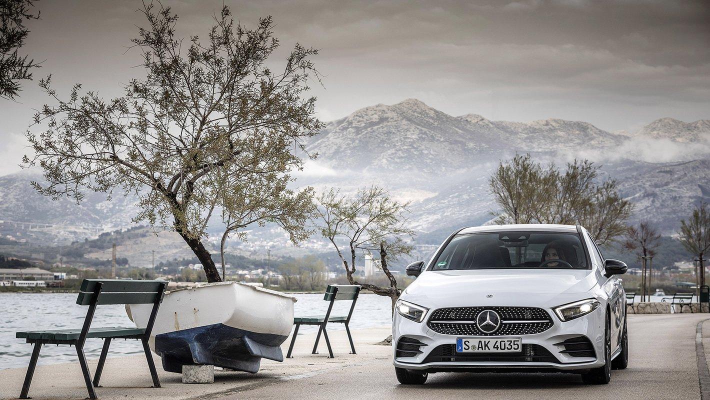 Mercedes-Benz Klasy A z przodu