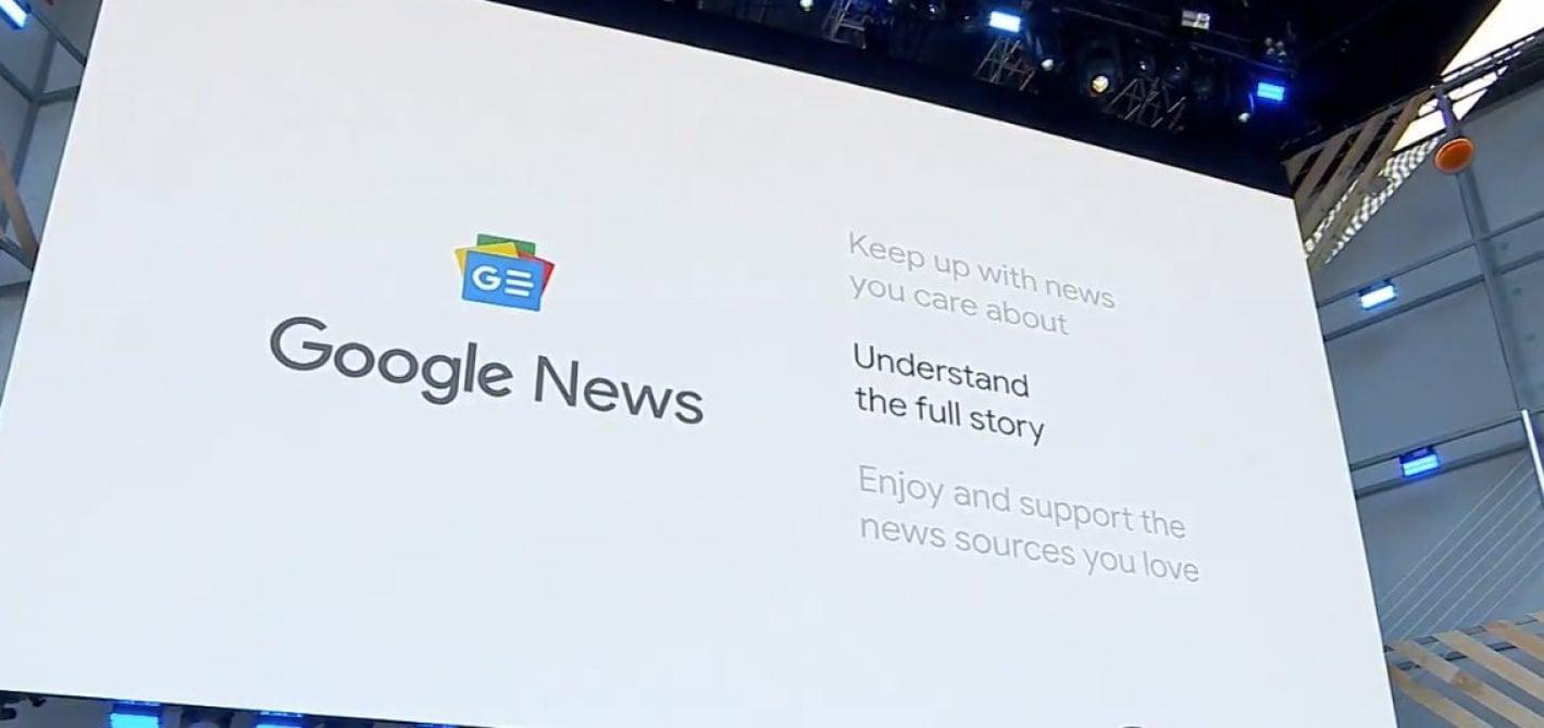 nowe google news