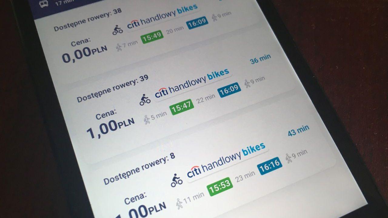 Nowa funkcja Jak dojadę dostępna na Androidzie i iOS