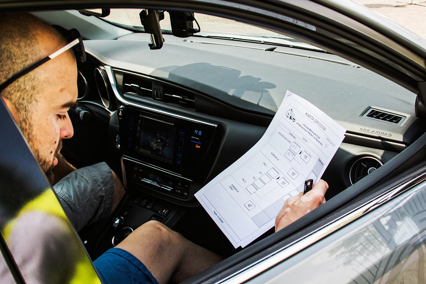 Toyota Eco Rally - pilot