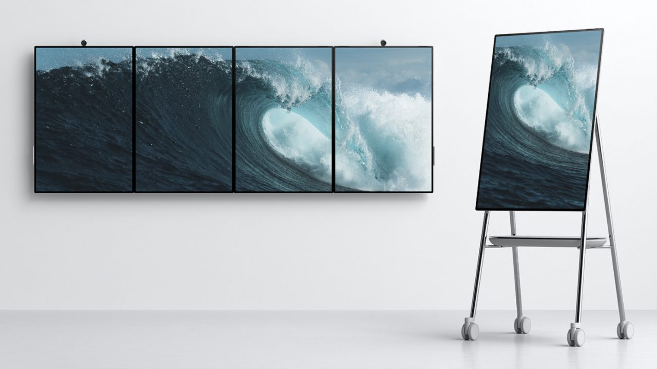 tablica surface hub 2 od microsoft