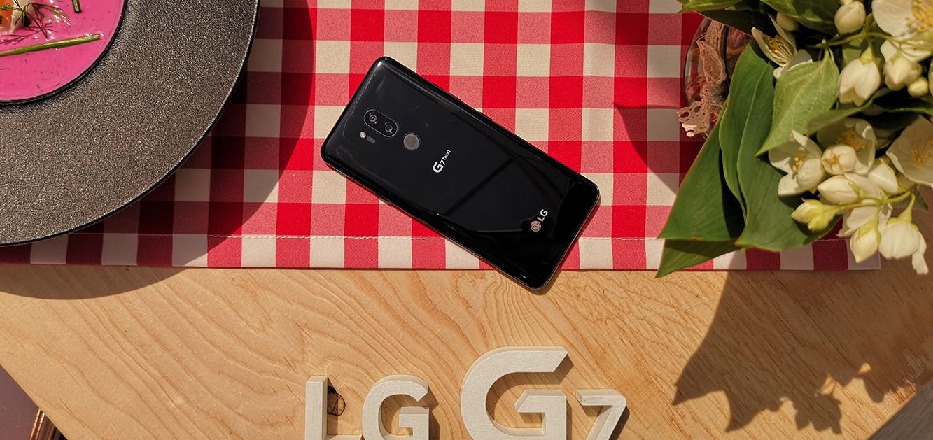 LG G7 ThinQ jest już dostępny w Polsce