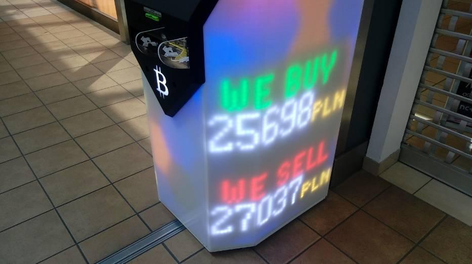 automat do bitcoinów