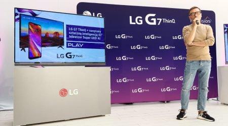 LG G7 ThinQ z telewizorem 4K w zestawie