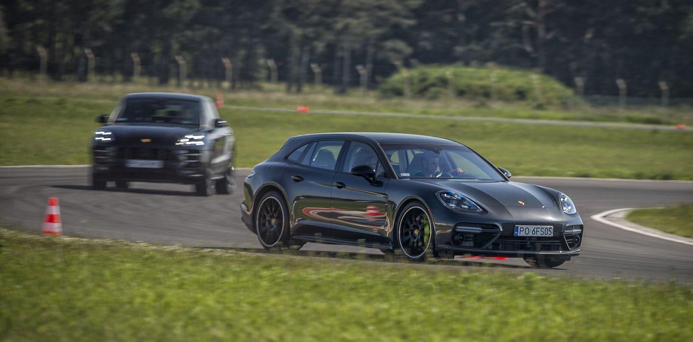 Porsche Panamera i Macan