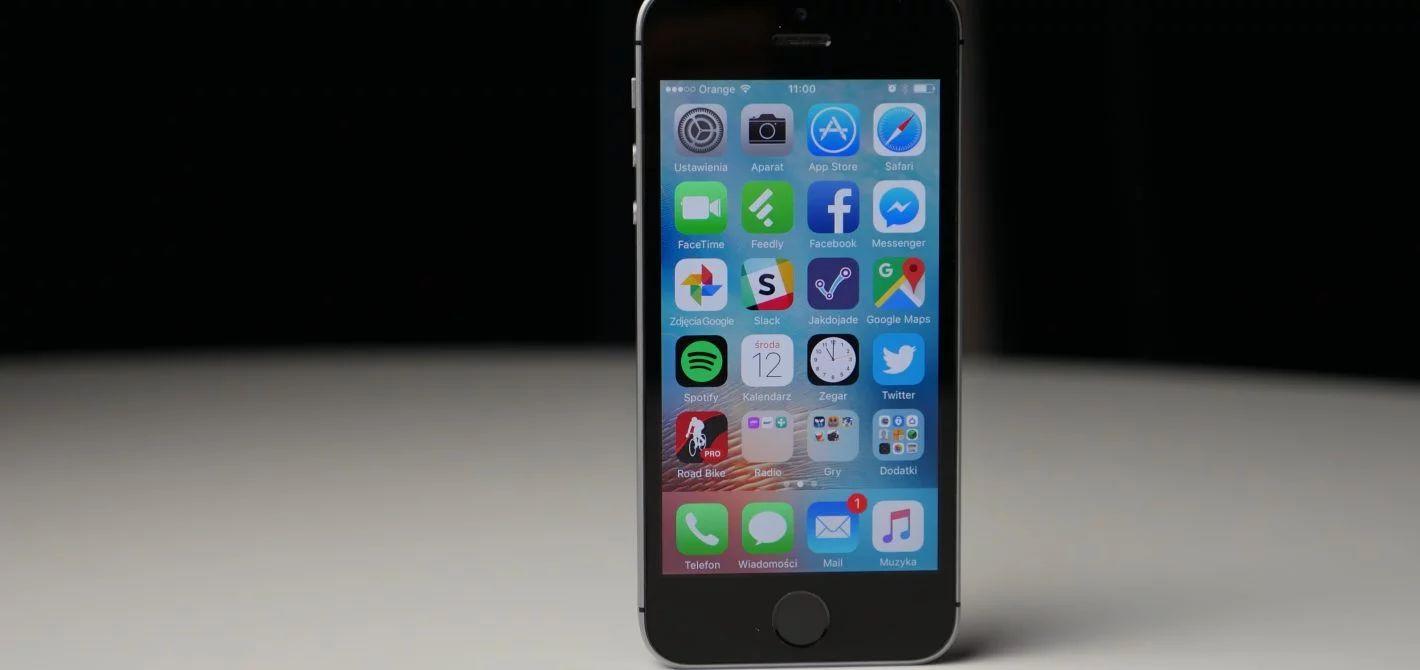aplikacje w smartfonie