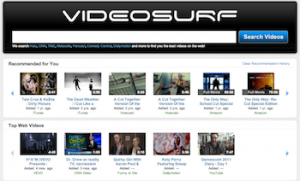 Videosurf - wyszukiwarka