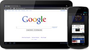 Android 4.0 - przeglądarka