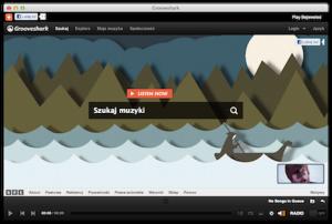Strona początkowa Groovesharka