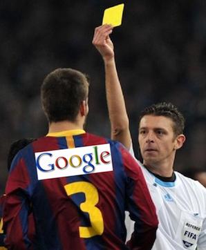 Żółta kartka dla Google'a