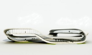 3D-printed house