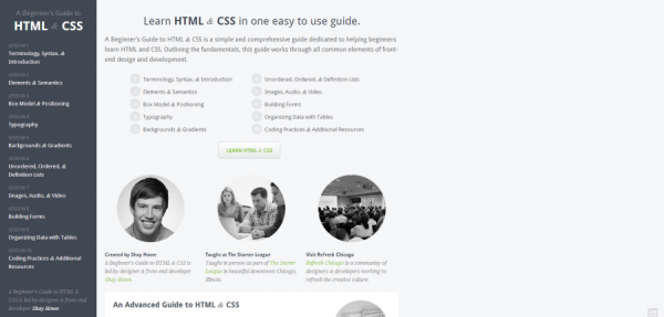 A Beginner s Guide to HTML   CSS