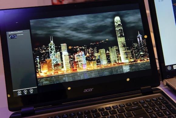 Acer's 'Retina-class' tablet