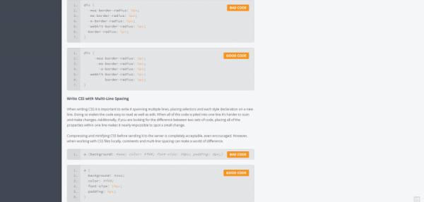 Coding Practices   Additional Resources   A Beginner s Guide to HTML   CSS
