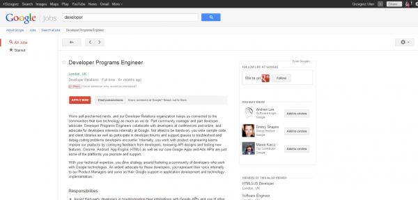 Developer Programs Engineer   London   Google Jobs