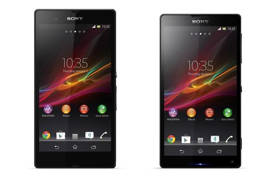 Sony Xperia Z oraz Xperia ZL