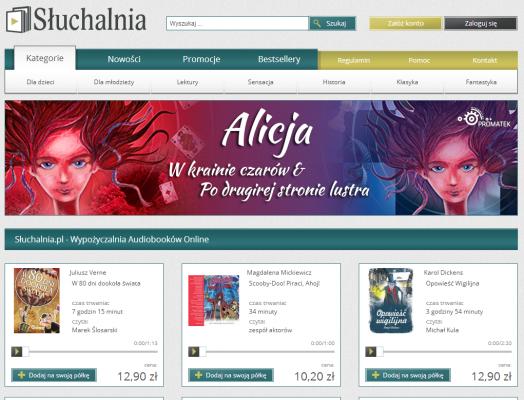 Słuchalnia.pl - Audiobooki online