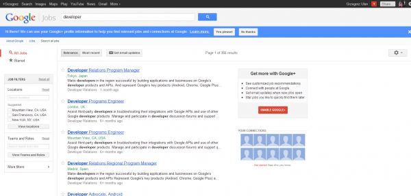 Search all jobs   Google Jobs