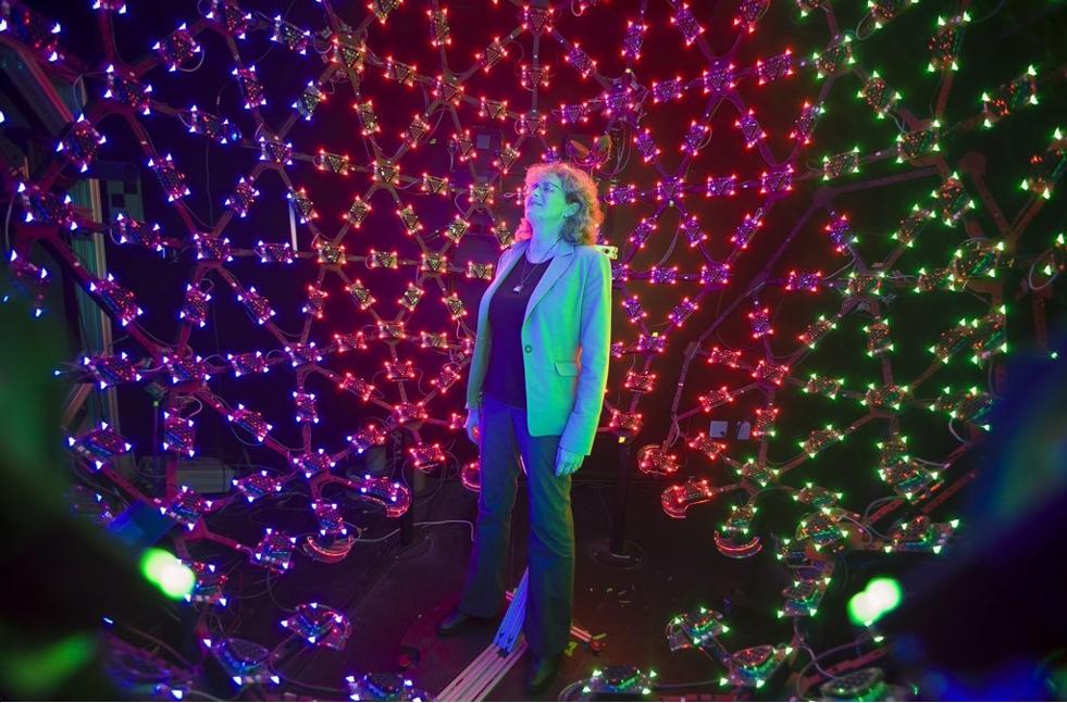 W takiej klatce nagrywane są hologramy