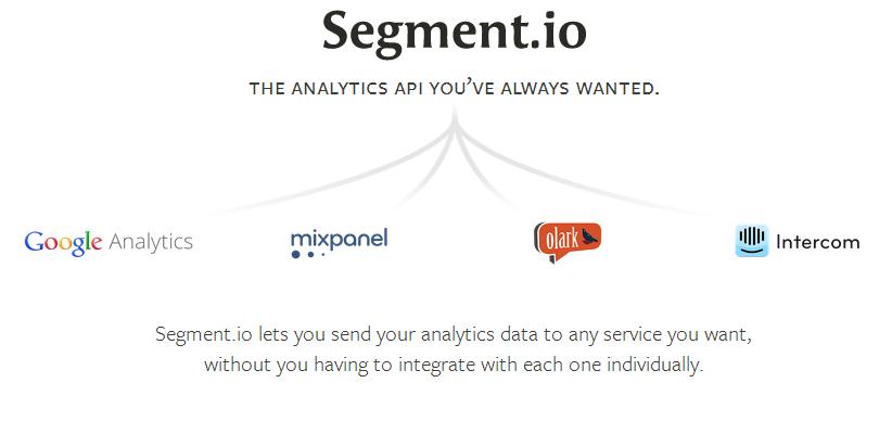 Segment.io - The simple analytics API — Segment.io