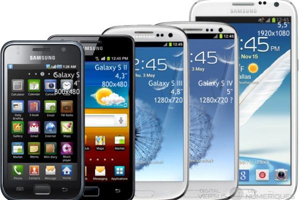 seria smartfonów Samsung Galaxy