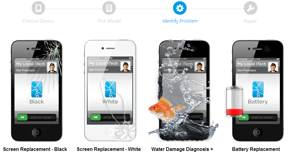 iPhone 4S Repair - iCracked