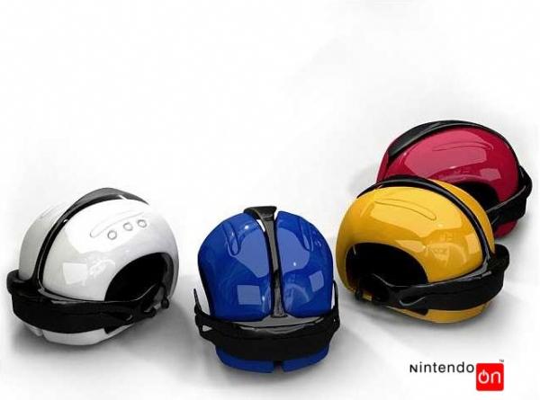 A oto fanowska koncepcja wyglądu (niezwanej jeszcze wtedy) Wii. Czy tylko mi na pierwszy rzut oka całość przypomina kask futbolisty?
