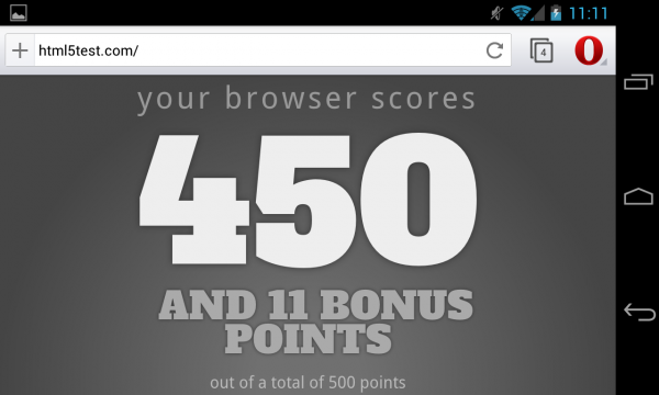 Opera WebKit na Androida (2)