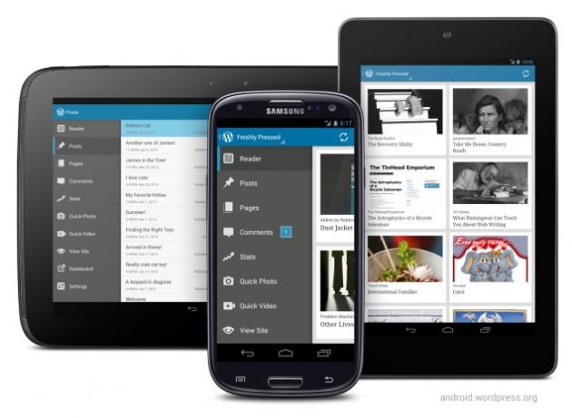 Wordpress dla Androida