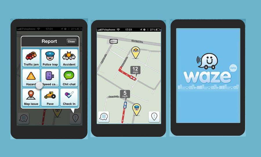 Nawigacja mobilna Waze