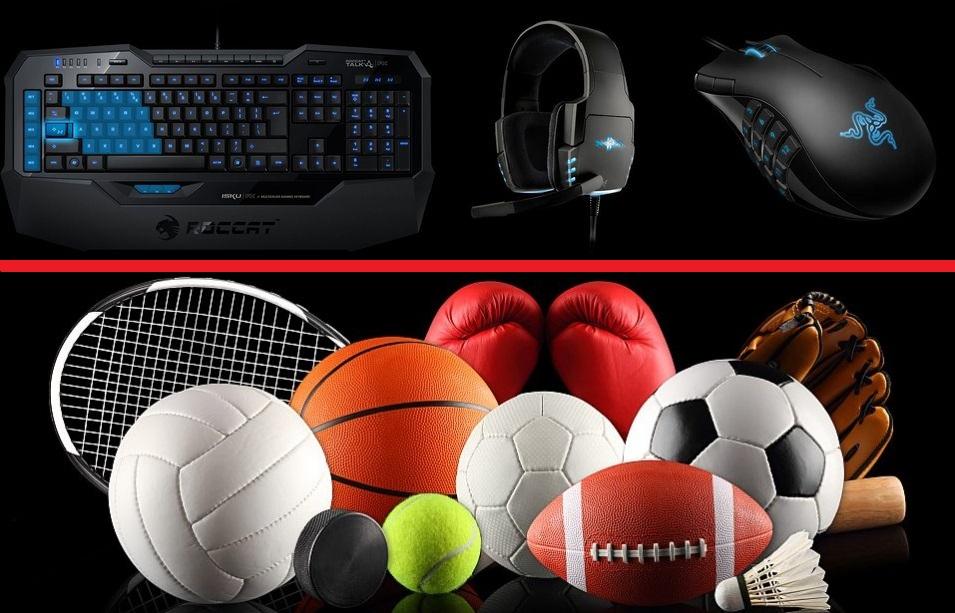 e-sport vs sport