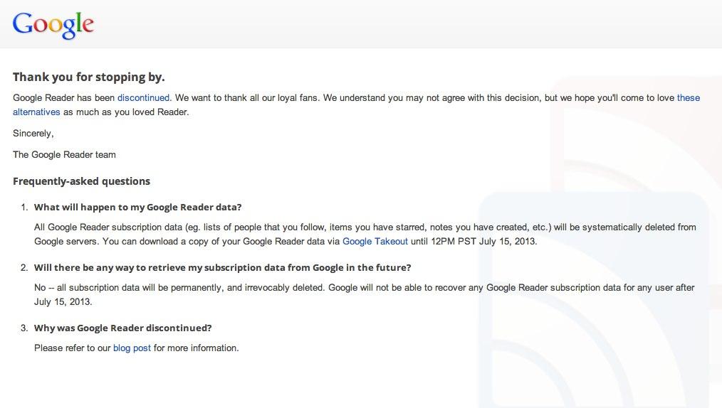 Google Reader – Google-1