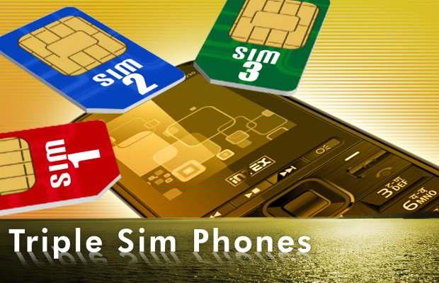 Triple-sim-mobile-phone