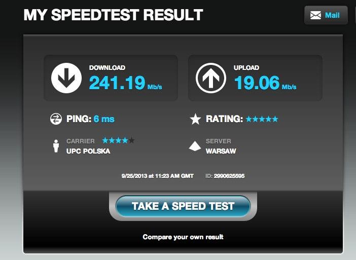 Speedtest.net by Ookla - My Results