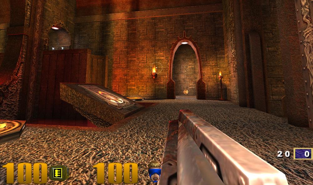 Quake 3 na Raspberry Pi