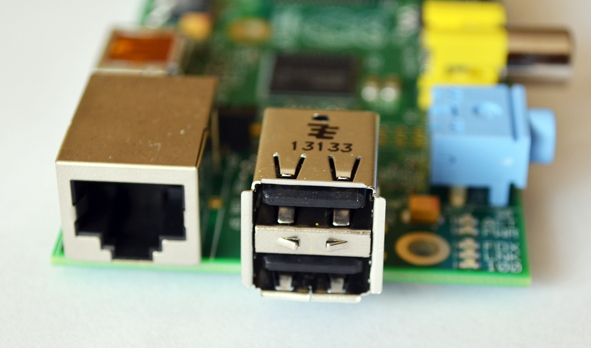 Raspberry Pi USB i Ethernet
