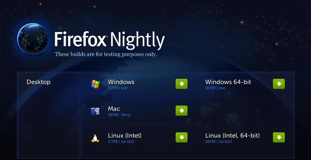 FirefoxNightly