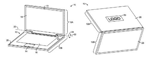 Apple patent diagram