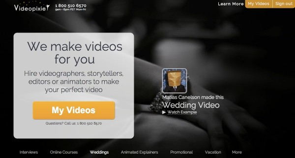 Hire professional video freelancers | Videopixie