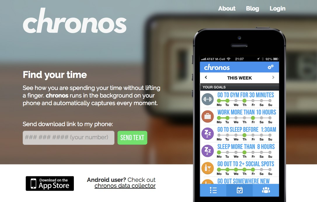 chronos - find your time