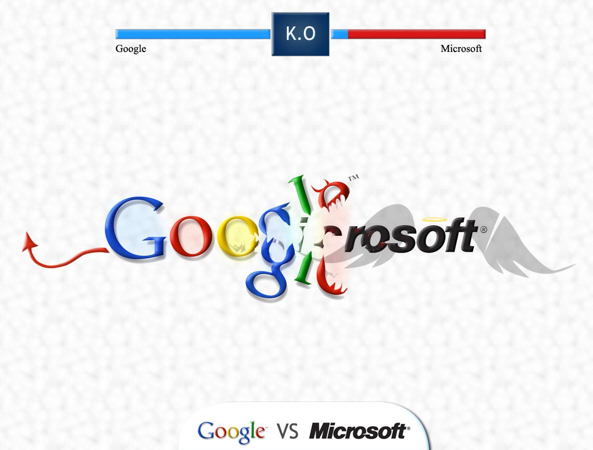 google_VS_microsoft_by_yasincrow