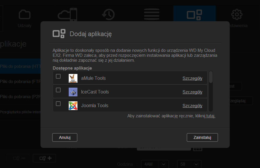 WD My Cloud EX2 panel administracyjny (12)