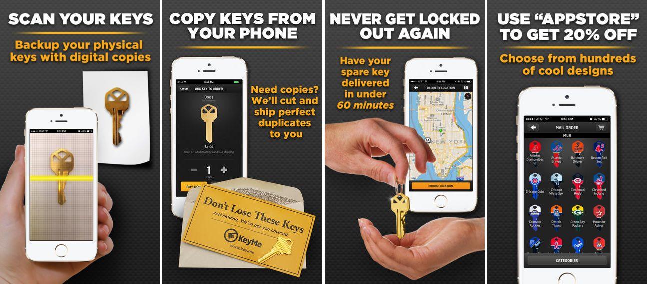 keyme dorabianie kluczy aplikacja mobilna