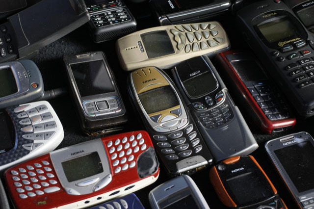 File photo illustration of a collection of mobile phones made by Nokia in Warsaw