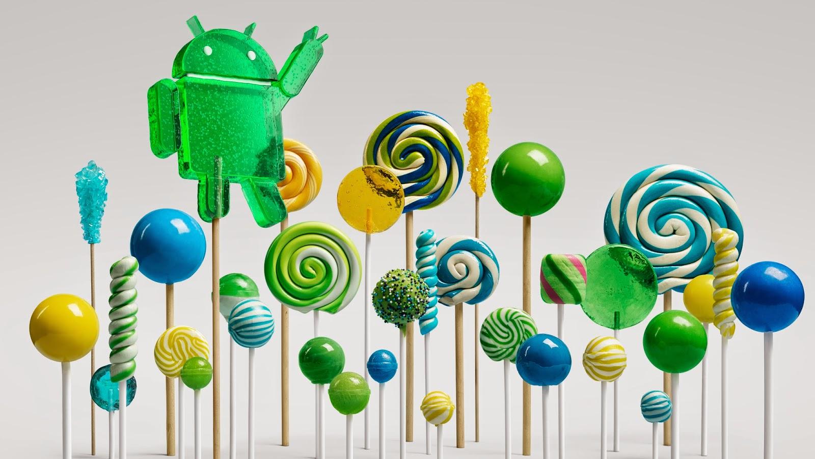 Android 5.0 Lollipop aktualizacja
